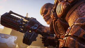 Image for Gears Tactics review: a bird's eye view brings faithfully chunky combat but no new perspective
