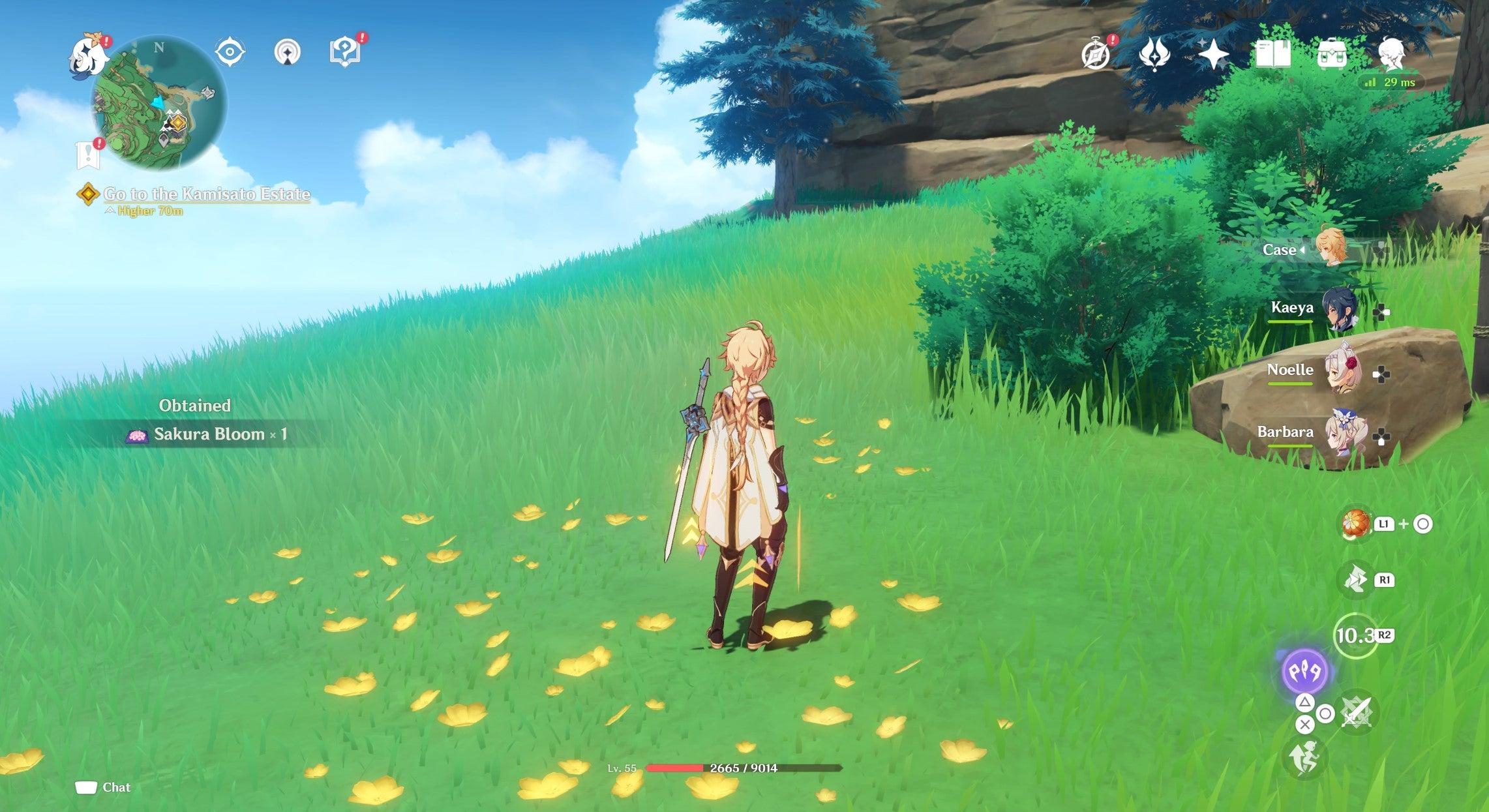 Image for Genshin Impact Sakura bloom location: How to farm Sakura Bloom