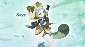 Image for Genshin Impact Sayu build, materials, banner, and more