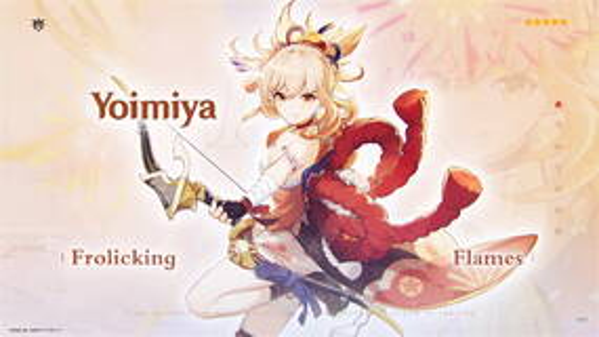 Image for Genshin Impact Yoimiya build, banner, materials, and more