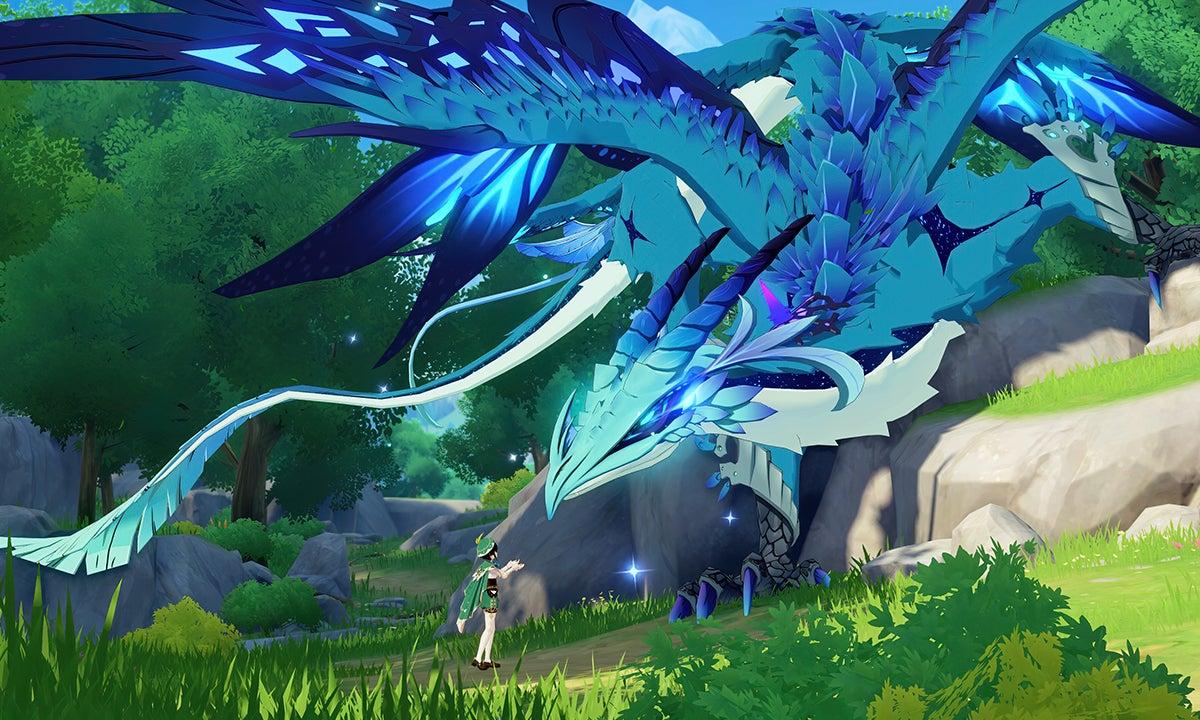 Image for Genshin Impact's next region, Dragonspine, arrives in December