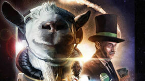 Image for What in the hell is happening in this Goat Simulator space DLC