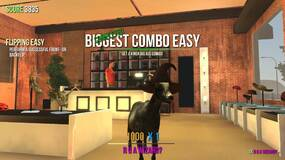 Image for Split screen multiplayer release date announced for Goat Simulator