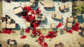 Image for God's Trigger is a frenetic, top-down co-op action game inspired by Hotline Miami
