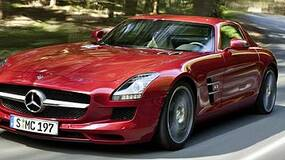 Image for Watch the Mercedes SLS AMG in Gran Turismo 5 action