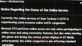"""Image for GT5 single-play scuppered by """"extreme online traffic congestion"""""""