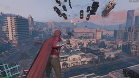 Image for GTA 5 mod lets you play as Magneto and throw cars around