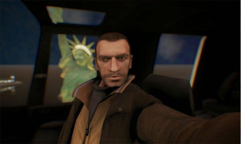 Image for GTA 4 gets selfies via mod