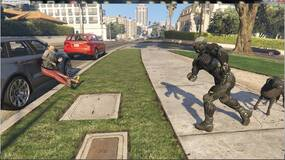 Image for GTA 5 mod adds the versatile Crysis Nanosuit, complete with its four main powers
