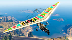 Image for Play GTA Online this week and you'll be handed the Nagasaki Ultralight for free