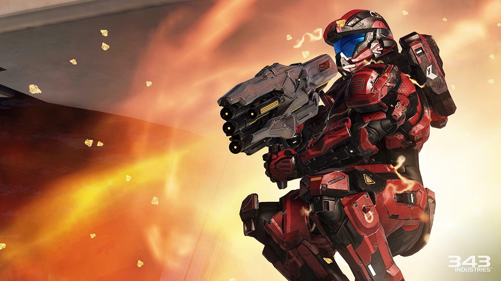 343 says Halo 5 is not coming to PC, again - halo 5 warzone gamescom 2015 5