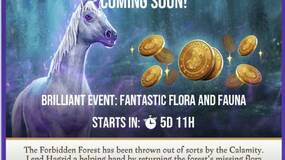 Image for Harry Potter: Wizards Unite Brilliant Event goes live July 3, and has you finding magical beasts from the Forbidden Forest
