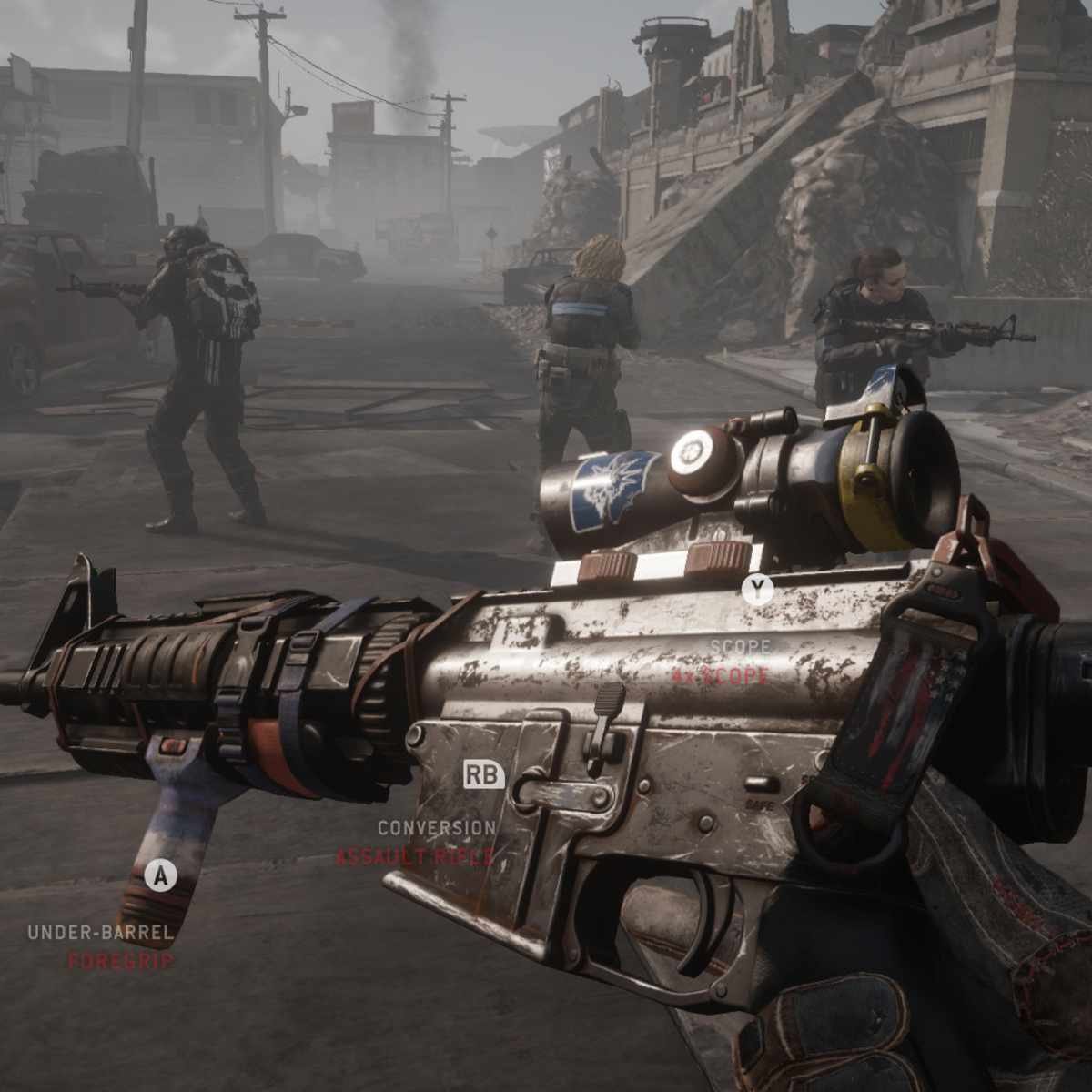 Homefront The Revolution trailer is all about modular weapons   VG20