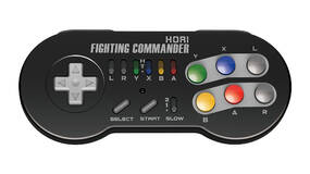 Image for Hori is bringing back its Fighting Commander controller for the SNES Classic Mini