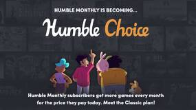 Image for Humble Monthly is becoming Humble Choice: subscribe now for a limited-time cheaper price