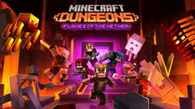 Image for Minecraft Dungeons Flames of the Nether DLC and free update coming later this month