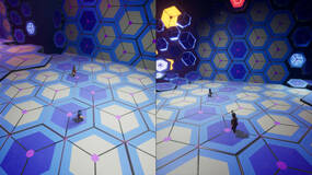 Image for It Takes Two Kaleidoscope Puzzle Room - How to cross the gap
