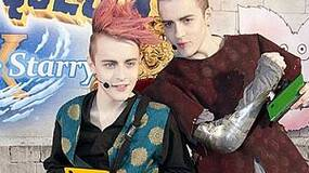 Image for Video - Jedward dress up as Dragon Quest IX characters
