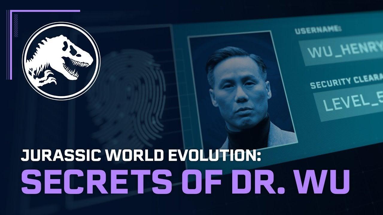 Image for Jurassic World Evolution: Secrets of Dr. Wu DLC adds Wu's hybrids, new hidden facilities