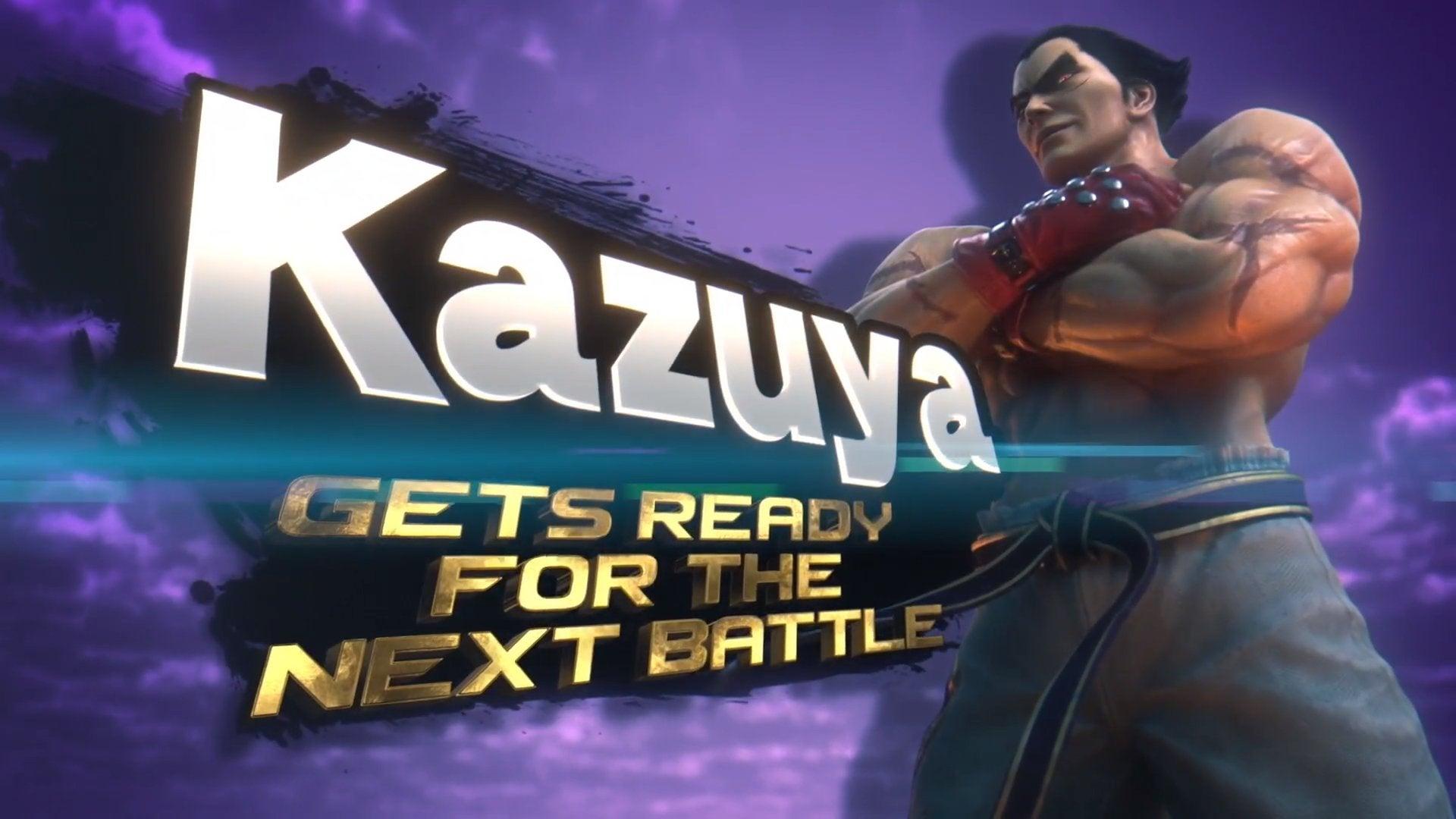 Image for Tekken's Kazuya Mishima is coming Super Smash Bros. Ultimate