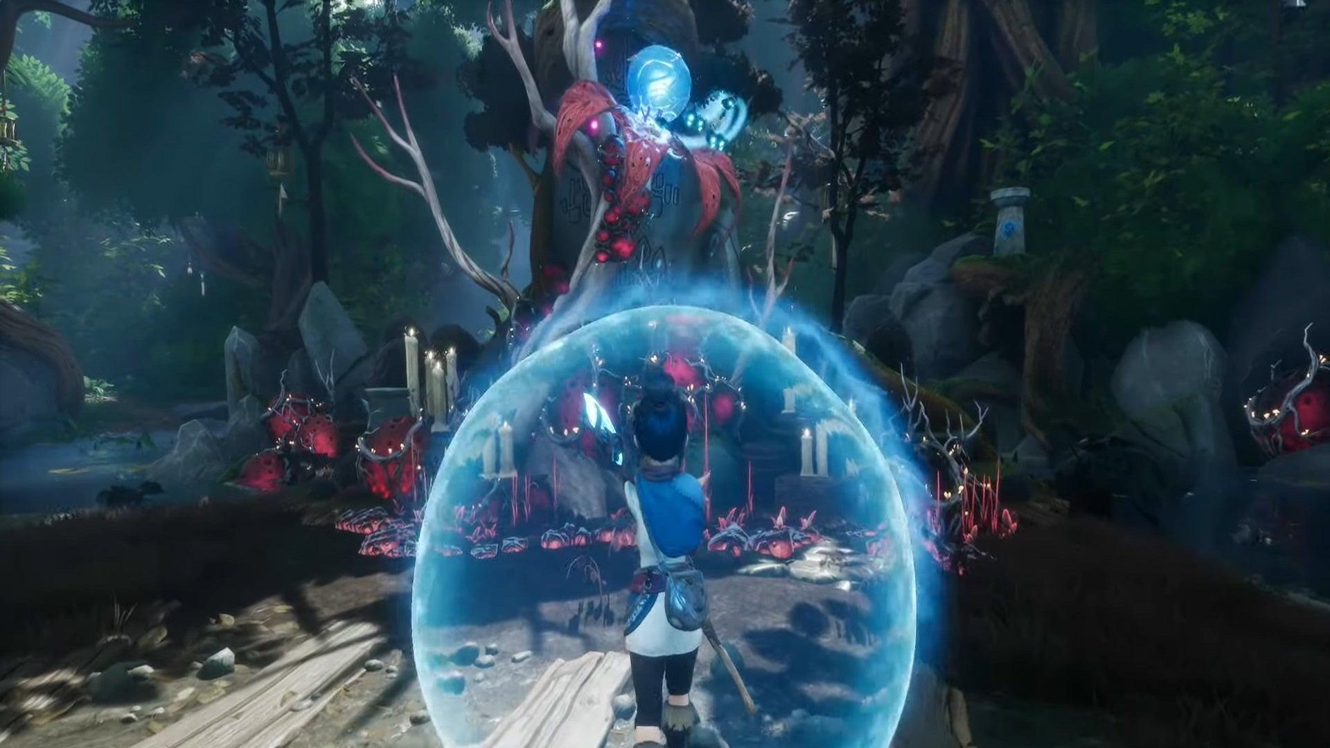 Image for Kena Bridge of Spirits Fishing Shrine puzzle and solution