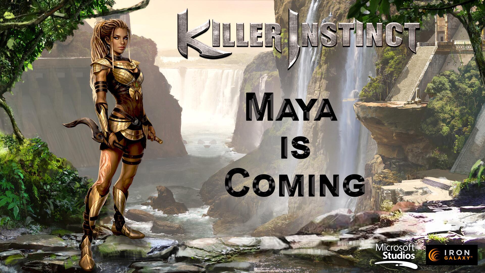 Image for Maya is the latest fighter reveal for Killer Instinct: Season 2