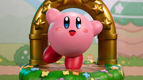Image for This Kirby Goal Door statue is too cute to not pre-order