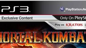 Image for Mortal Kombat PS3 box art appears, complete with Kratos