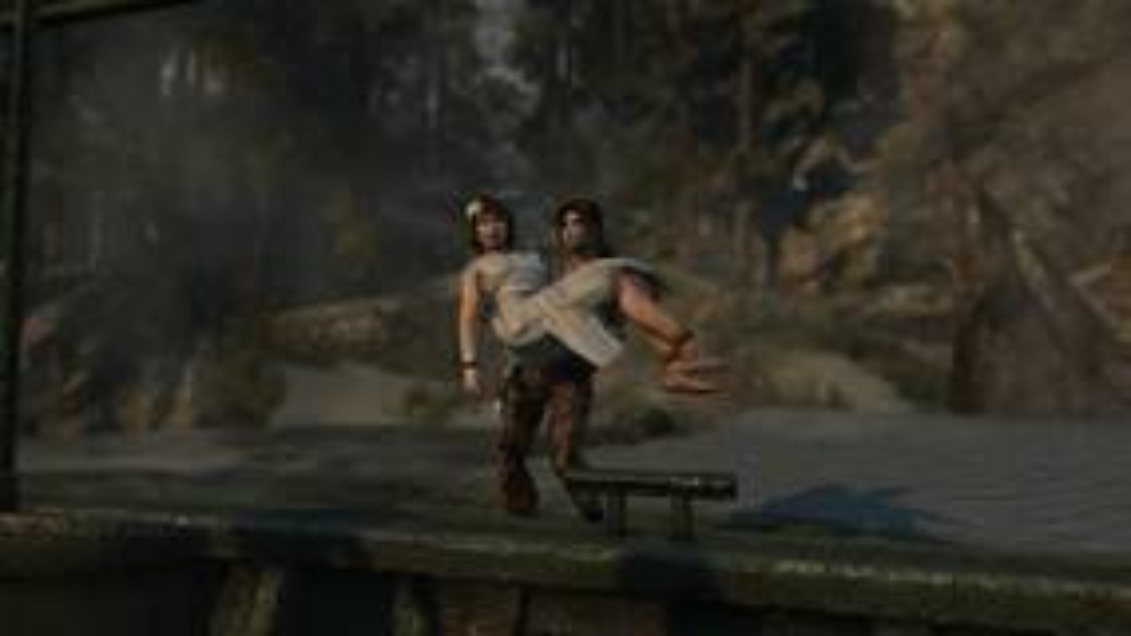 Image for Tomb Raider comic originally had Lara and Sam Nishimura end up together