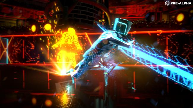 Image for Olli Olli developers reveal futuristic sports game Laser League