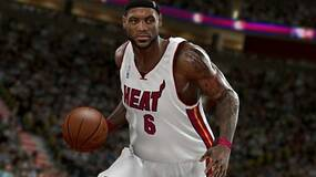 Image for Lebron James feels the Heat in latest NBA 2K11 screen