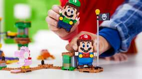 Image for Adding Luigi and multiplayer, Lego Mario finally feels like it's reaching its true potential