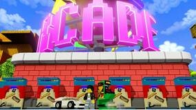 Image for LEGO Dimensions Midway Arcade release trailer is a blast from the past