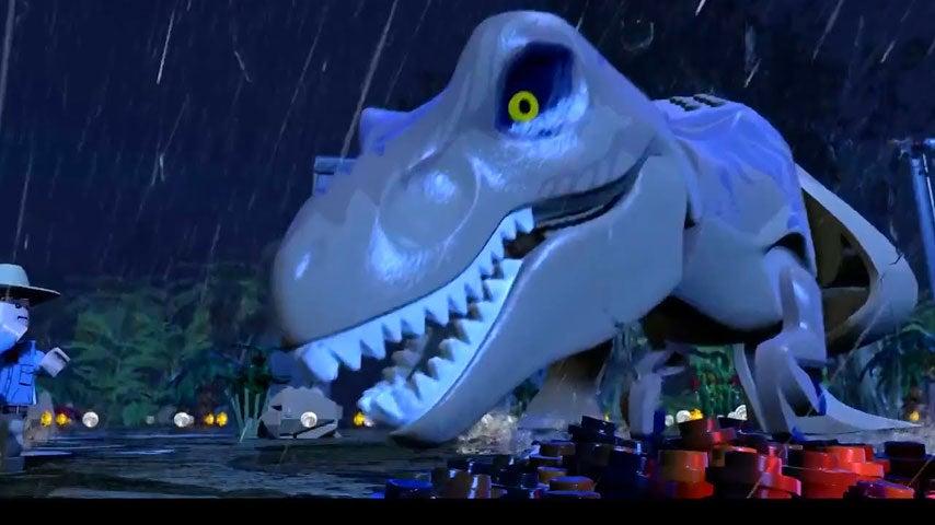 Image for LEGO Jurassic World Wii U trailer includes a herd of ankylosauri