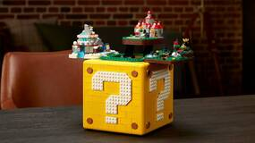 Image for The new Lego Mario ? Block is filled with brilliant Easter Eggs