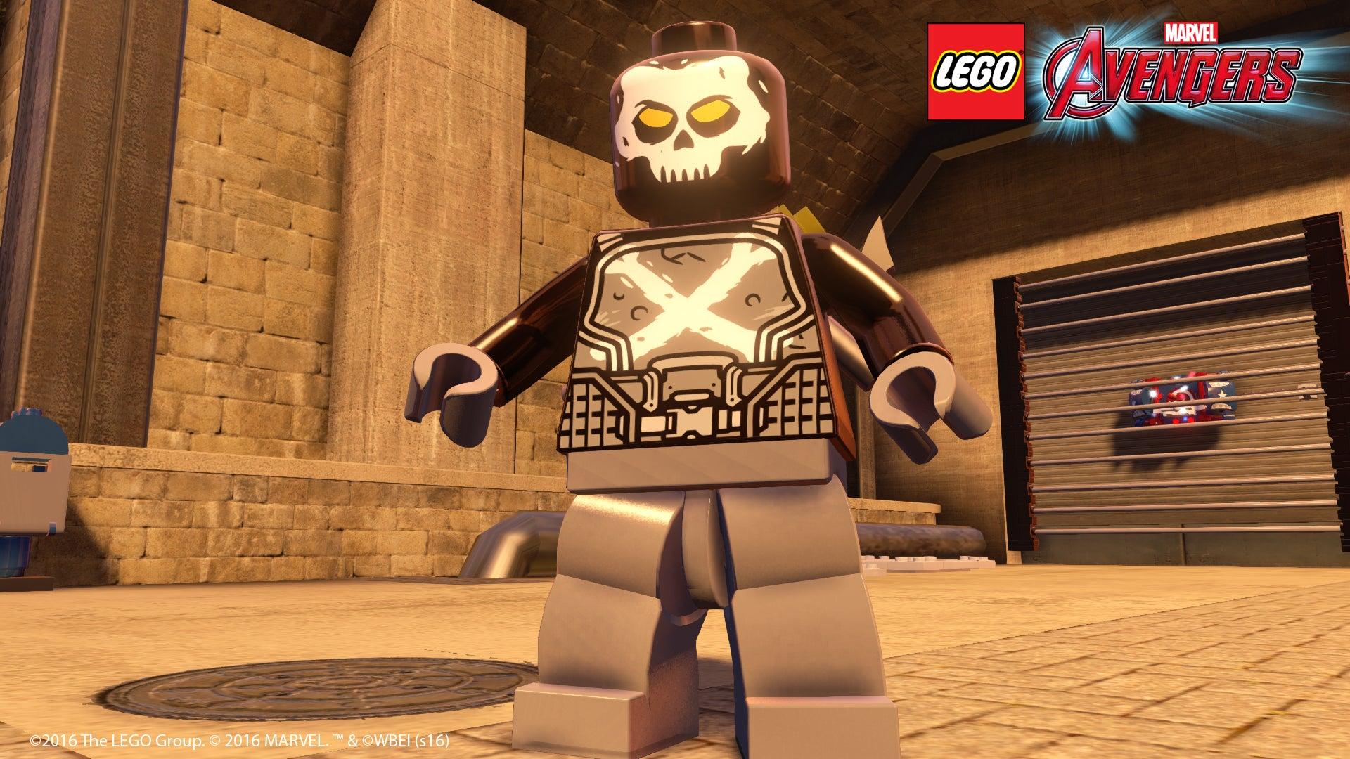 Image for Lego Marvel Avengers shakes up UK chart