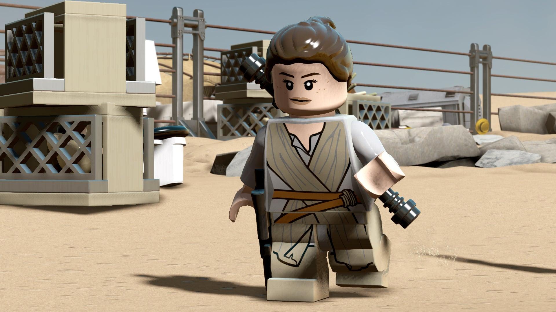 Image for LEGO Star Wars: The Force Awakens blaster battles revealed in debut gameplay