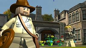 Image for Video for LEGO Indiana Jones 2 shows bar scene from first film