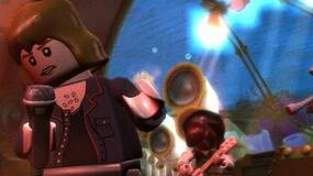 Image for LEGO Rock Band details include rock-themed challenges