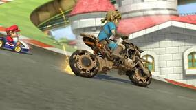Image for Free Mario Kart 8 Deluxe update adds Zelda: Breath of the Wild Link and his motorcycle