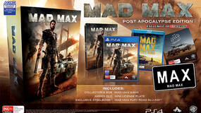 Image for Mad Max Post-Apocalypse Edition includes Blu-ray, license plate