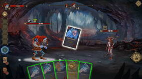 Image for Deck of Ashes fully released on Steam, celebrates with design a mini-boss competition