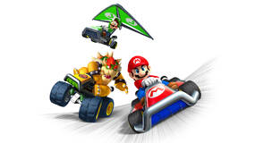 Image for Nintendo 2DS XL with Mario Kart 7 is under £100 right now