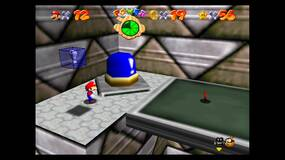 Image for Super Mario 64: Castle Secret Stars, Cap unlocks for the Red Blue and Green Boxes