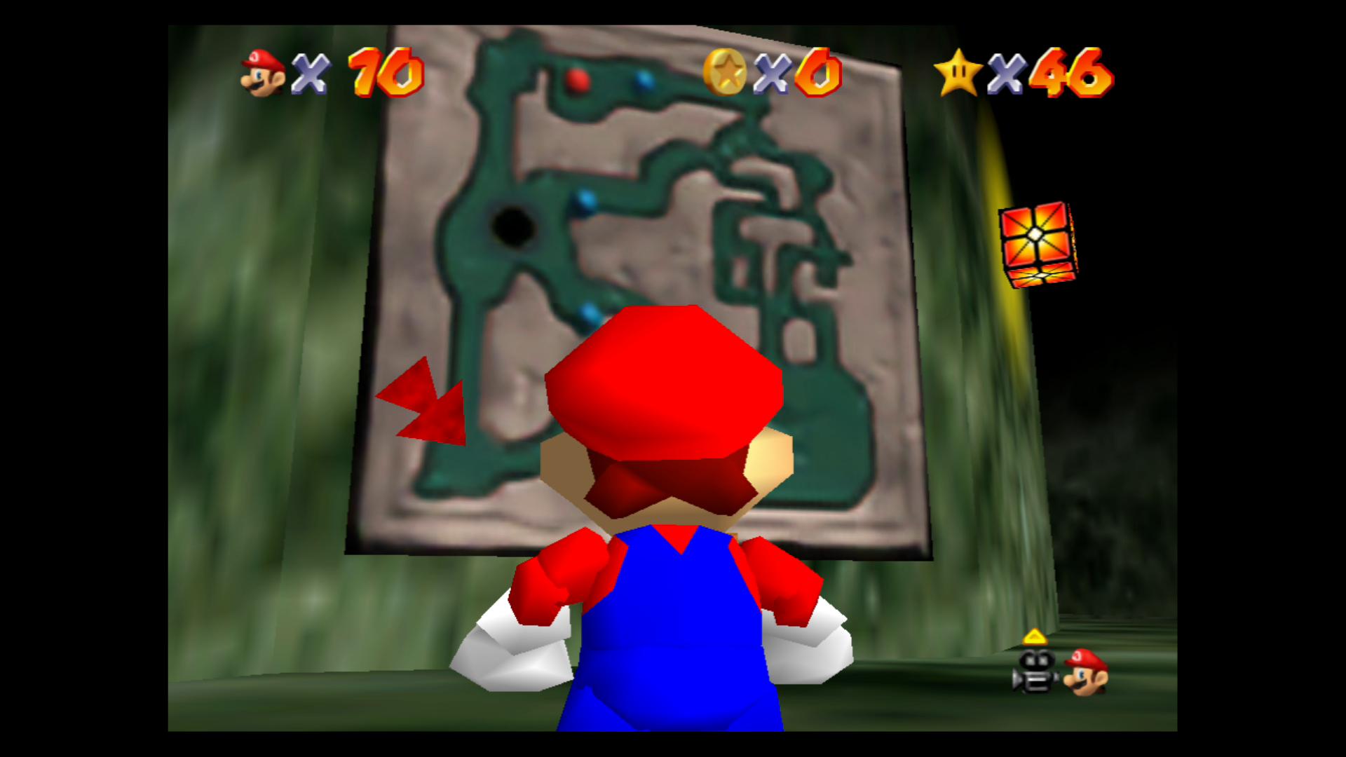Image for Super Mario 64: Hazy Maze Cave Stars