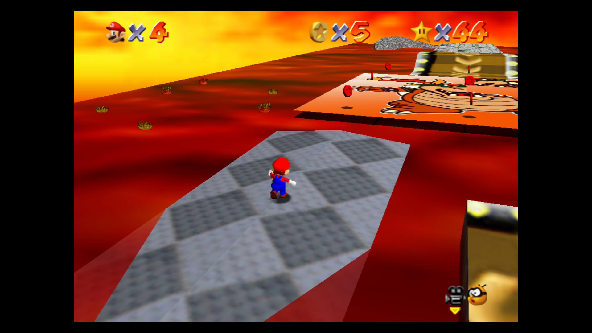 Image for Super Mario 64: Lethal Lava Land Stars