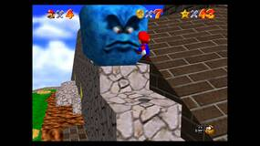 Image for Super Mario 64: Whomp's Fortress Stars - Shoot into the Wild Blue, Blast Away the Wall and more