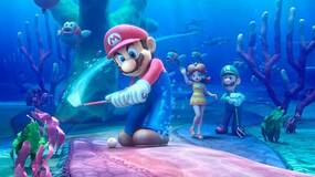 Image for Mario Golf: World Tour trailer shows how you shoot balls out of Donkey Kong barrels