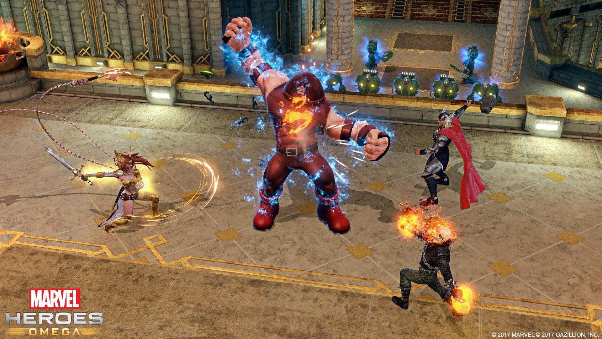 Image for Marvel Heroes Omega is offline on all platforms