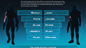Image for Commander Shepard's first name is probably Sarah, or Jack